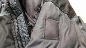 winter jacket patch